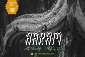Aaram Free Font