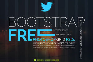 Bootstrap responsive Grid PSD
