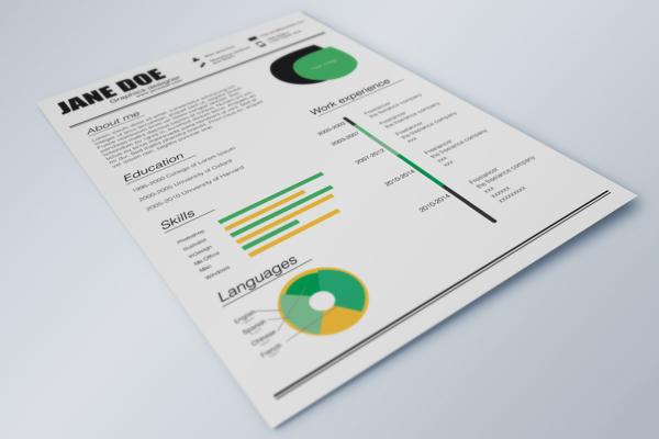 Free Resume template 09