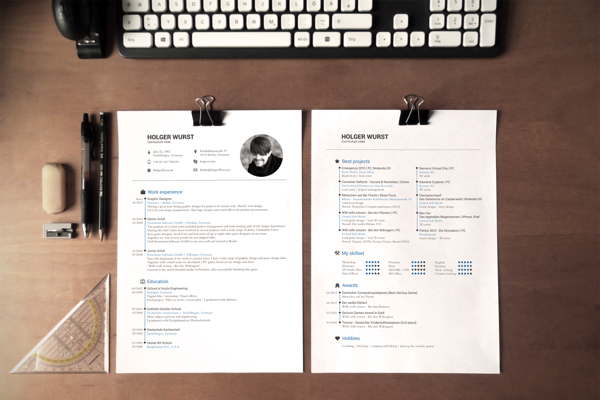 Free Resume template 13