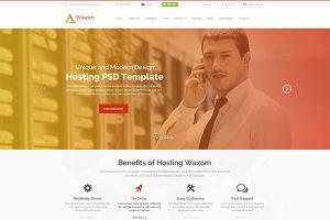 11Waxom - Clean & Universal PSD Template