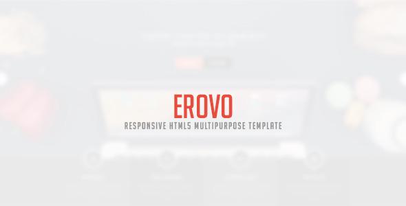 Erovo - Responsive Multipurpose HTML5 Template