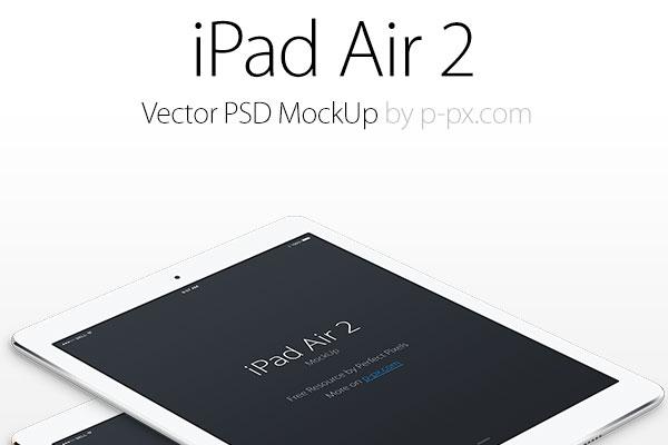 ipad air 2 free psd template designer resource
