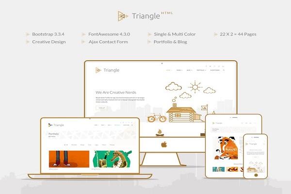 Triangle – Free Responsive Multipurpose Template