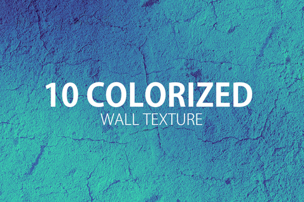 10 Colorized Wall texture