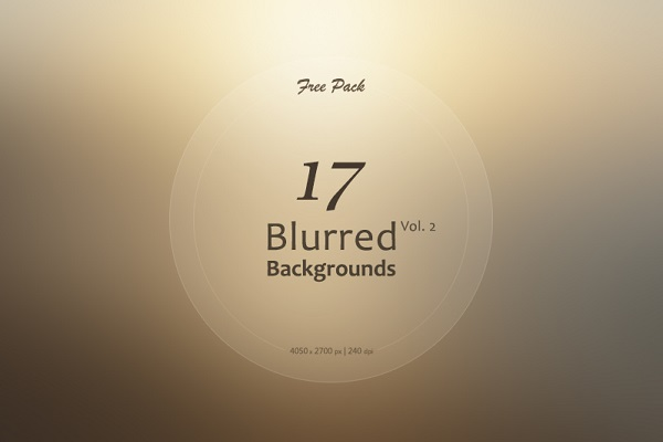17 Free Blurred Backgrounds Vol.2
