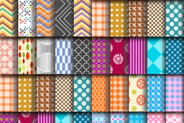 Free Download 100 Repeating Vector Patterns From Freepik