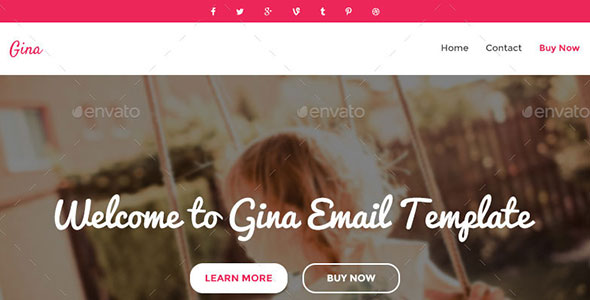 Email PSD Template