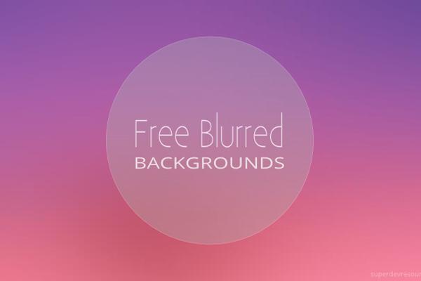 10 Blurred Backgrounds - Freebie #6