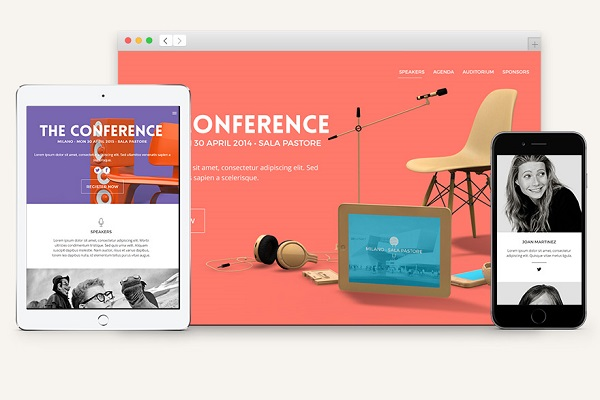 Conference HTML5 Landing Page