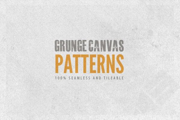 Seamless-Grunge-Canvas-Background-Patterns-–-Freebie