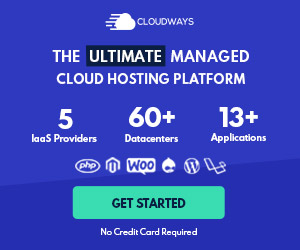 Cloudways - Managed WordPress Hosting